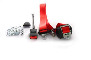 3-Punkt-Automatikgurt-Sicherheitsgurt-Universall-ROT-m-Gurtpeitsche-TUV-E-Pruefug