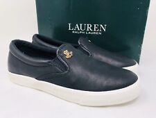 8821fe9405 Lauren Ralph Lauren Ria Slip-on SNEAKERS 103 Black 7 US / 38 EU
