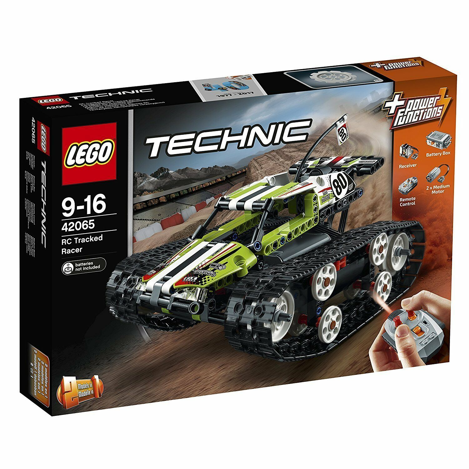 Lego Technic™ 42065 Télécommandé Mx Racer Neuf Emballage Emballage Emballage D'Origine Misb e317be