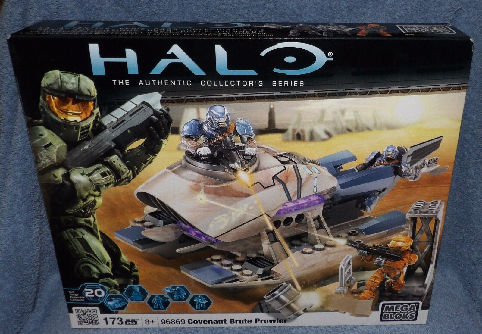 MEGA BLOKS HALO COVENANT BRUTE PROWLER SET  96869