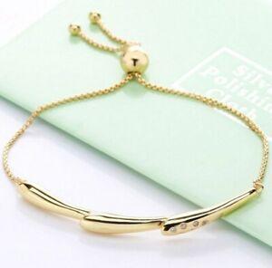 925-Sterling-Silver-Bracelet-Shine-Flower-Stem-Sliding-Bracelet-Bangle