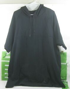 470526c4669e Jordan Short-Sleeve Pullover Men s Hoodie Black 642456-010 SIZE XXL ...
