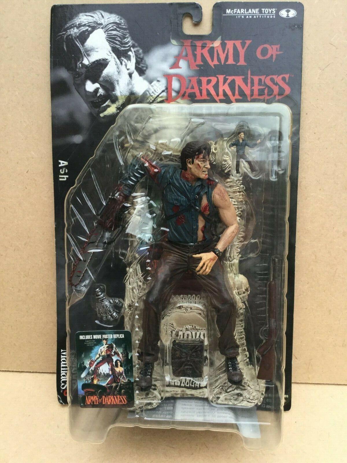 McFarlane giocattoli MOVIE uomoIACS Army of Darkness ASH azione cifra. 2000