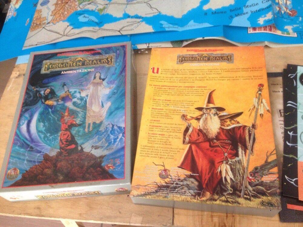 Forgotten Realms Ambientazione Dungeons & Dragons 1998 Ottime Condizioni