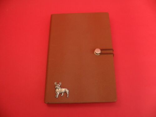 French Bulldog A5 Tan Notebook Journal Dog Vet Father Mother Christmas Gift