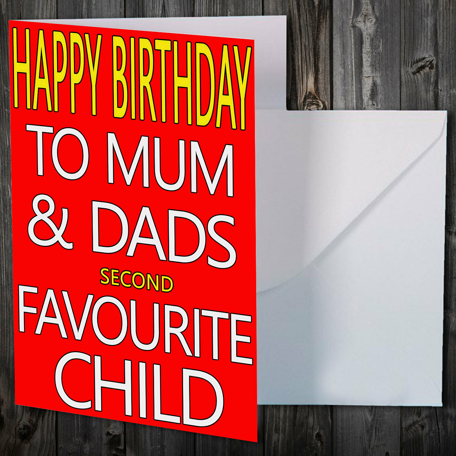 BIRTHDAY CARD FOR SIBLING BredHER SISTER FUNNY COMEDY Nelear1233 Cards Stationery