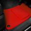 Red SUPER VELOUR Car Floor Mats Set To Fit Audi TT Mk2 Coupe 2006-2014