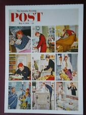 POSTCARD ADVERT SATURDAY EVENING POST F/PAGE  DATED  12 MAY 1956  - THE JOY OF P