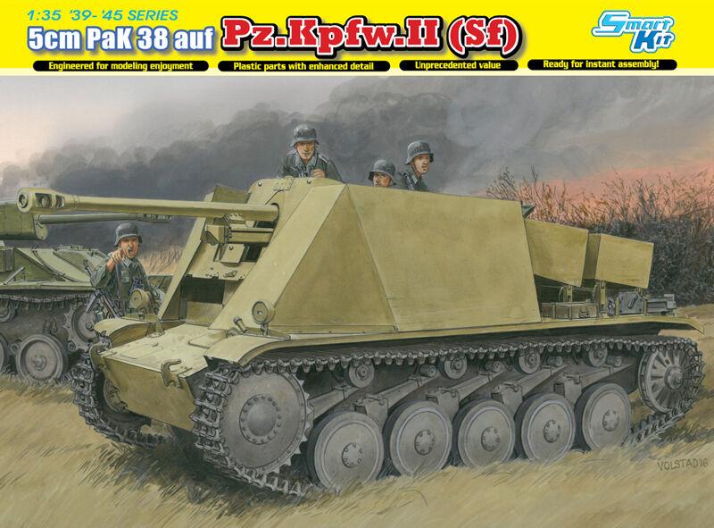 1 35 Dragon 5cm PaK 38 L 60 auf Fgst.Pz.Kpfw.II (Sf)