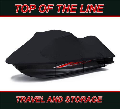 BLACK 600 DENIER Jet Ski PWC Cover for Yamaha WaveRaider Deluxe 94-97 2 Seater