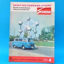 Der Deutsche Straßenverkehr 4/1969 DDR Saporoshez CZ-Motorräder Rennen Rallyes F