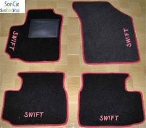 SUZUKI SWIFT TAPPETI AUTO su MISURA 4 block 4 decori
