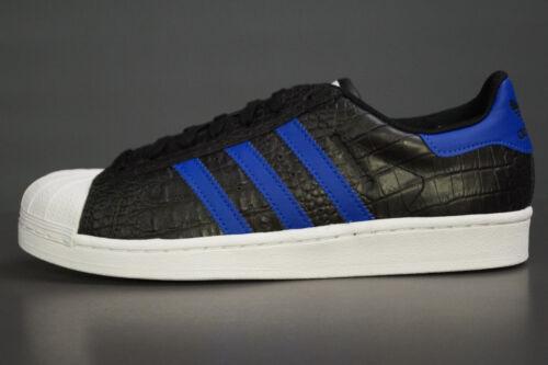 huge discount 30f60 b7c93 Adidas Uk 5 Superstar Nero Bz0196 Originals 44 Eu Uomo 9 Blu qqgCH