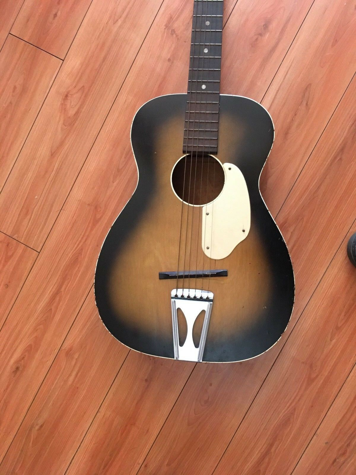 Vintage 1950s  60s Fender by Harmony Parlor Größe Acoustic Guitar- Made in USA