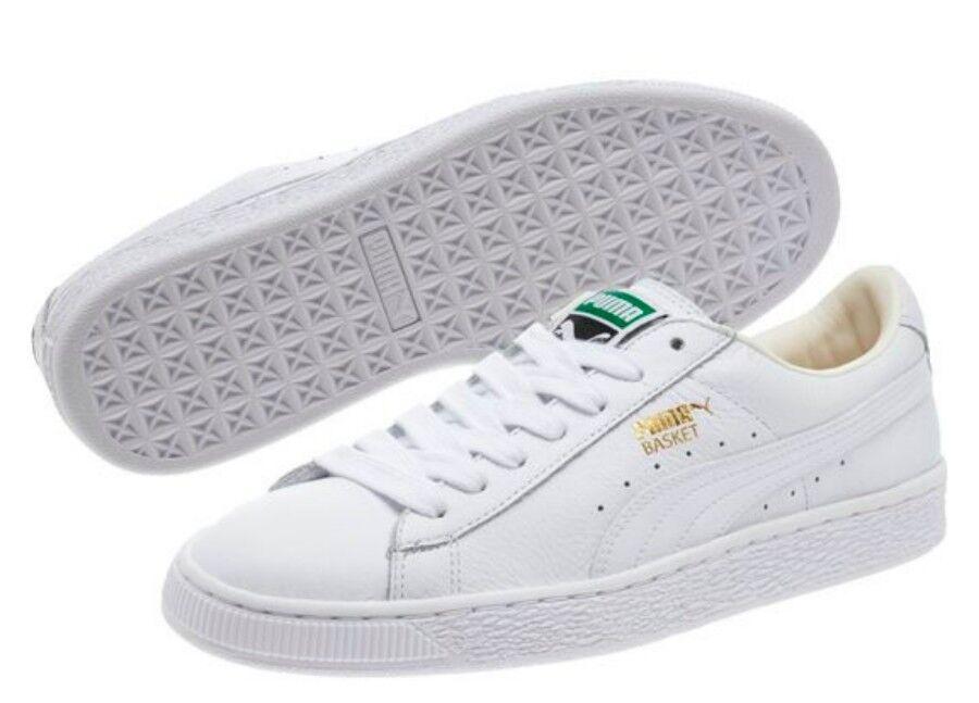 PUMA Femme 9.5 Basket Classic LifeStyle Wns Fashion Sneaker- blanc Gold