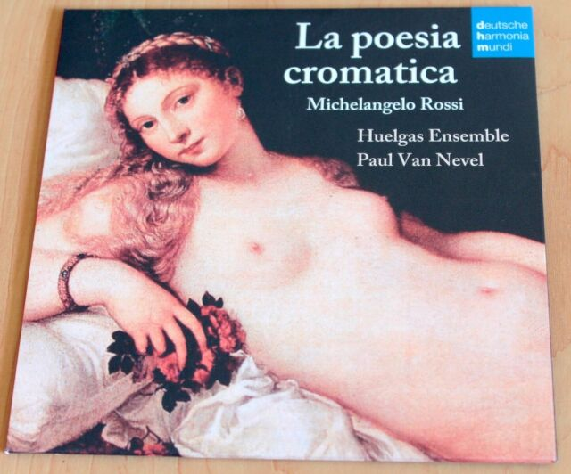 Michelangelo Rossi - La Poesia Cromatica - Huelgas Ensemble - Paul Van Nevel-CD