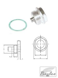 Tappo Magnetico di scarico con Anello di tenuta in fibra di vetro Magnetic Plug
