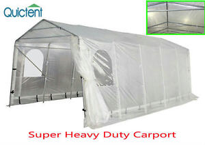 Quictent® 20x10 Heavy Duty Portable Garage Carport Car ...