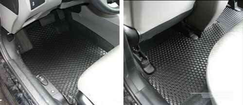 HexoMat Rubber You Pick Color 1 2 Rows 2 3 4 Pc F-W Ford Custom Fit Floor Mats