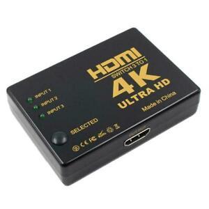 4K-2K-3in-1out-HDMI-Hub-Splitter-TV-Switcher-Adapter-HD-Ultra-2020-For-HDTV-W4S1
