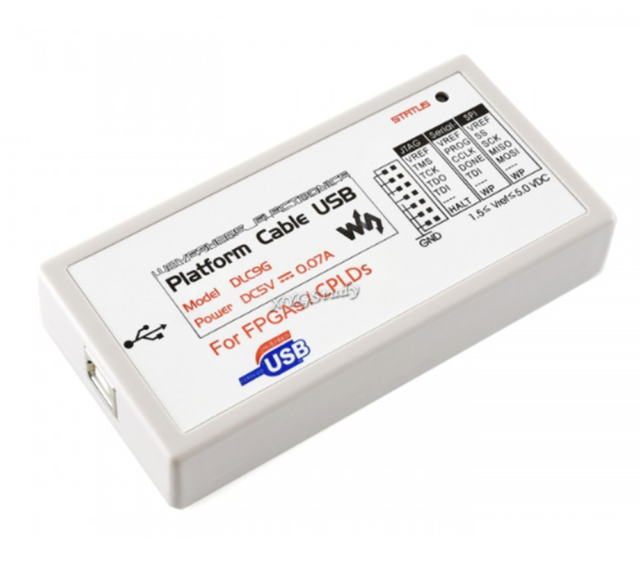 Xilinx Platform Cable USB FPGA / CPLD JTAG Dlc9g In-circuit Debugger  Programmer