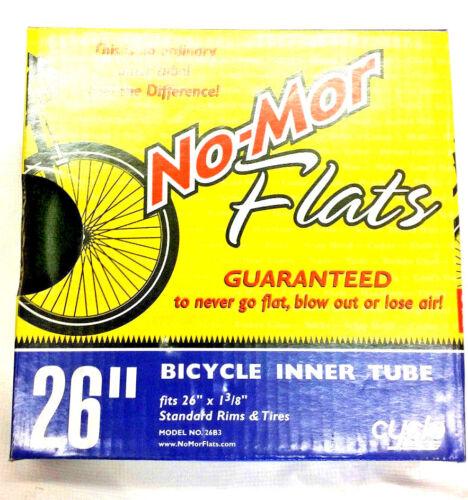 26X1-3//8 NO-MOR FLAT FOAM TUBE INSERTS Flat Proof Solid Bike Tubes NEW IN BOX