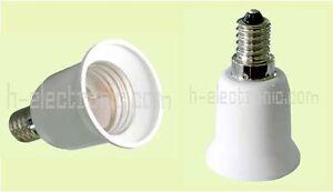 5 stück Adapter E14 auf E27 LED leuchtmittel Sockel 98 Fassung