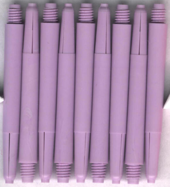 1.25in 2ba White Nylon Dart Shafts 6 per order