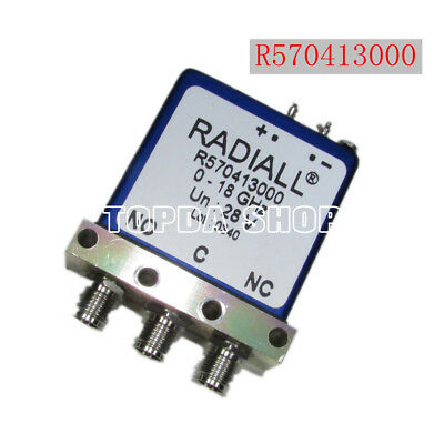 SPDT SMA 18GHZ  28V Details about  /Radiall R570413000 Switch