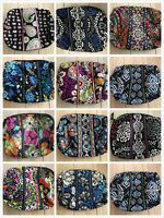 Vera Bradley Large Cosmetic Makeup Bag Travel Case Multi Color Sale