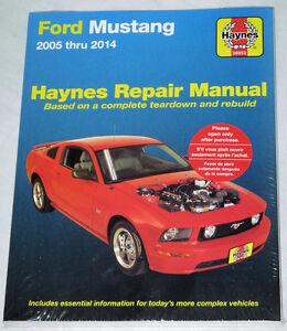 Haynes-Ford-Mustang-2005-2014-Manual-06-07-2008-2009-2010-2011-2012-2013-S197