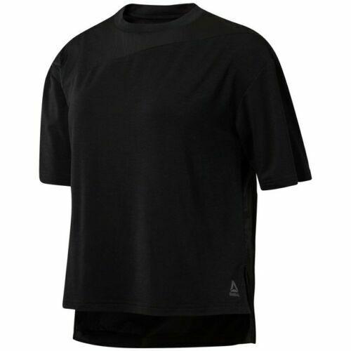 Reebok Women's Lightweight Woven Perfect T-Shirt # X-SMALL
