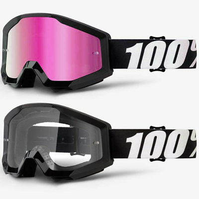 Clear Dual Lens Motocross//Cycling One Size 100/% Mens ACCURI ENDURO Goggle Gunmetal