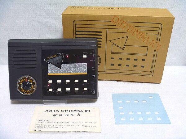 ZEN-en RHYTHMINA 101 101 101 PCM tambores con caja desde Japón Raro 000451