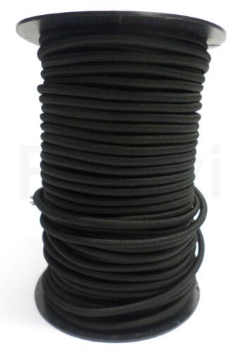 cuerda de goma 6 mm expanderseil negro Cord expanderseil cordel 5 metros € 1,16//m
