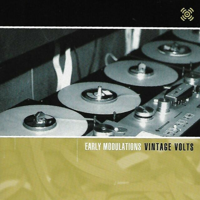 Various – Early Modulations Vintage Volts : CD Near Mint condition 2000