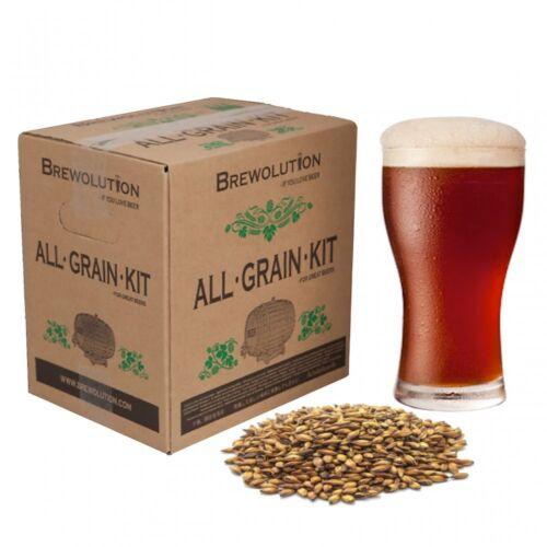 Brewolution Home Brew All Grain Bitter Beer Refill Recipe Kit Five O/'Clock ESB