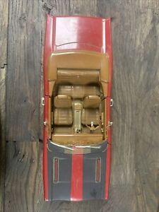 1969 Plymouth GTX Hemi Red ERTL Die-Cast Car Scale 1:18