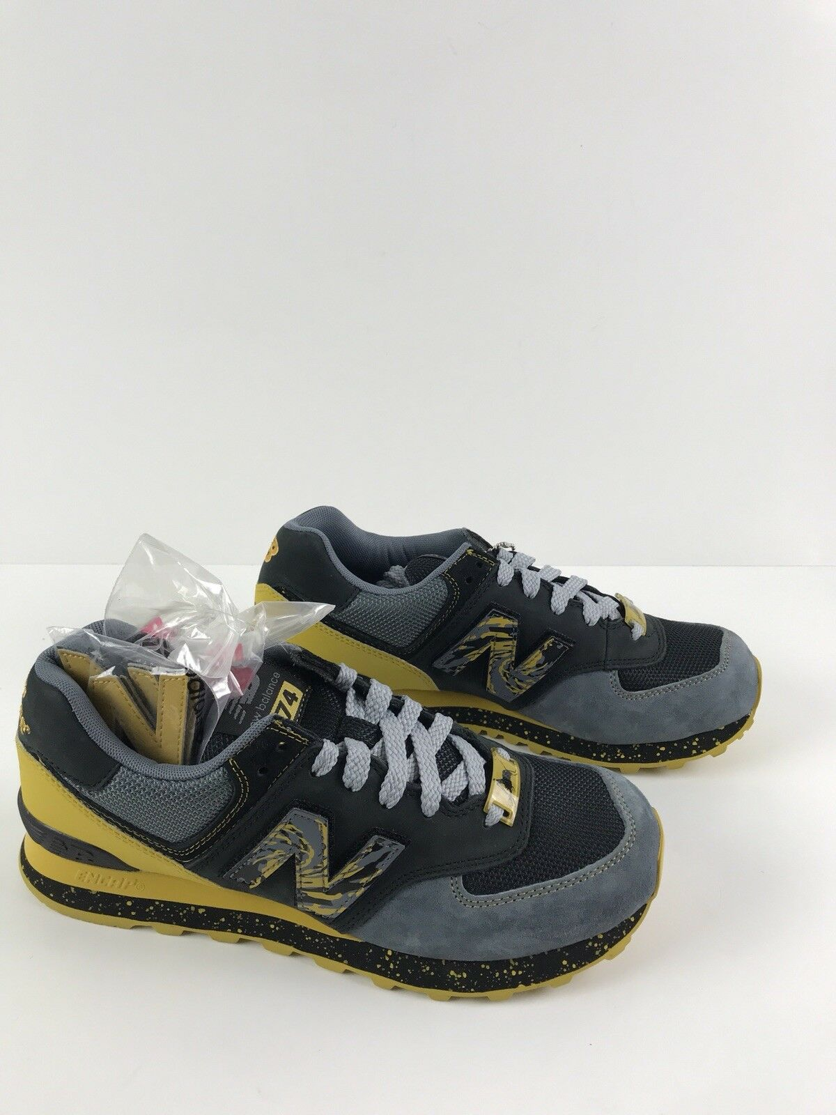 Shelflife x Dr Z x New Balance City Of gold ML574CG  Blk Ylw Mens Size 8.5