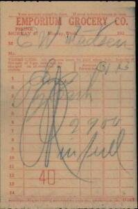 192x murray Utah (UT) Receipt emporium grocery co