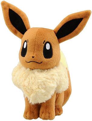 "Cute Pokemon Eevee Plush Doll Anime Figure Cosplay 30cm 12"""