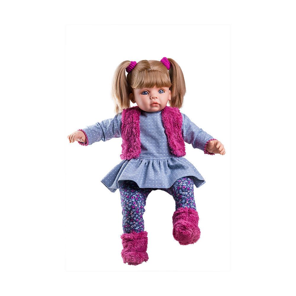 Puppe Rocio - ein Puppenmädchen von Paola Reina - Haare zum kämmen  60 cm