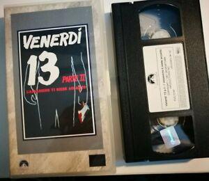 VHS-VENERDI-039-13-L-039-ASSASSINO-TI-SIEDE-ACCANTO-di-Steve-Miner-PARAMOUNT