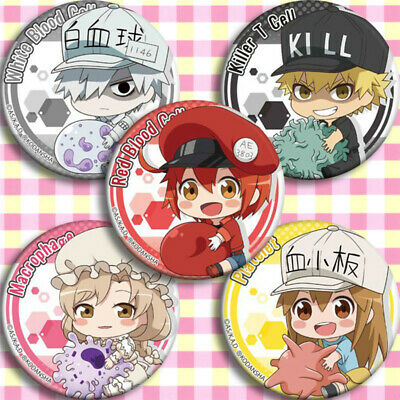 4PCS Anime Bungo Stray Dogs Badges Itabag Button Pin Brooch Kids Cute Gifts 58mm