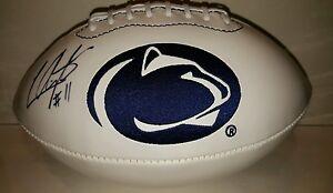 LaVar Arrington signed Penn State logo football JSA WITNESSED COA