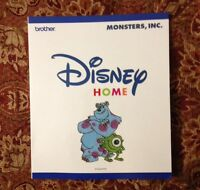 Monsters Inc Embroidery Designs Card For Brother Disney Sewing Machine