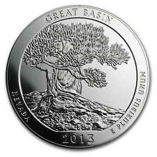 2013 5 oz Silver ATB Great Basin National Park, NV - SKU #74099