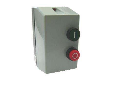 Direct on Line Enclosed DOL 240V coil 3 Phase Motor Starter Controller 7.5Kw
