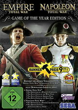 Total War: Empire / Total War: Napoleon - Game Of The Year Edition PC DVD NEU