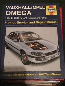 haynes workshop manual 3510 vauxhall opel omega petrol 1994 rh ebay co uk Vauxhall Omega Parts 1987 Vauxhall Omega